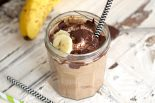 Receta de smoothie de chocolate