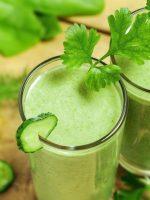 Receta de smoothie de verduras