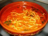 Receta de sopa de ajo con fideos
