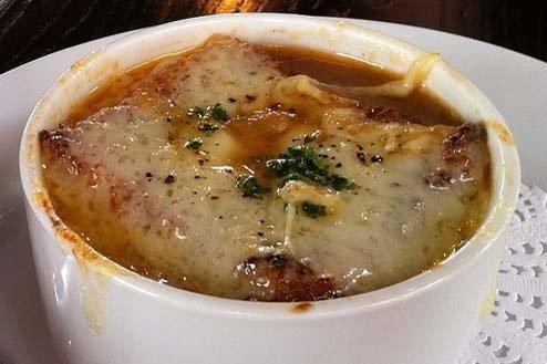 Receta de sopa de cebolla al microondas