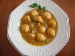Receta de sopa de cebolla con albóndigas