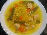 Receta de sopa de pollo con champiñones
