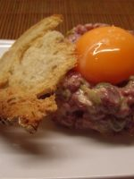 Steak Tartar de ciervo