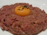 Receta de steak Tartar dukan