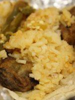Tacos con arroz