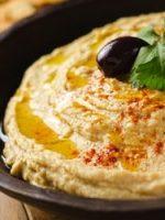 Receta de tahini con hummus