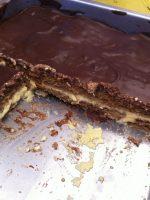 Receta de tarta de flan con galletas