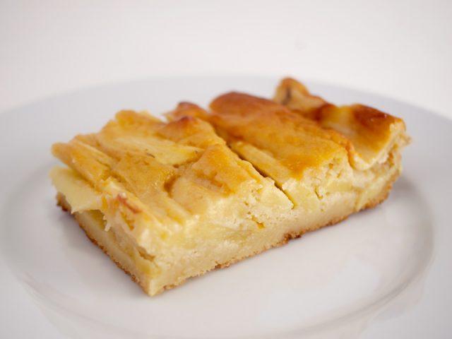 Receta de tarta de manzana light