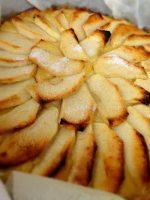 Receta de tarta de manzana sin hojaldre