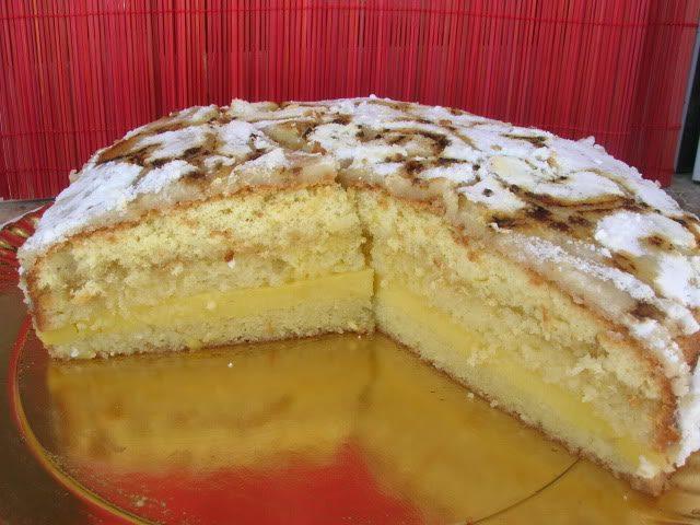 Receta de tarta de mazapán