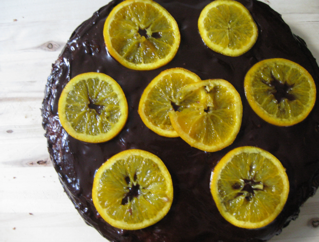 Receta de tarta sacher con mermelada de naranja