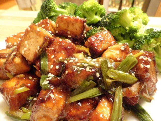 Receta de tofu thermomix