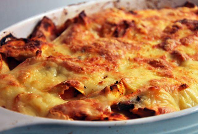 Receta de tortellini al horno