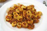 Receta de tortellini con carne