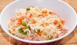 Receta de wok de arroz tres delicias
