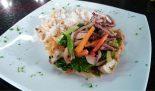 Receta de wok de calamar
