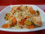 Receta de wok de salmón