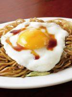Receta de yakisoba con huevo