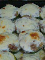Receta de zapallitos rellenos con salsa blanca