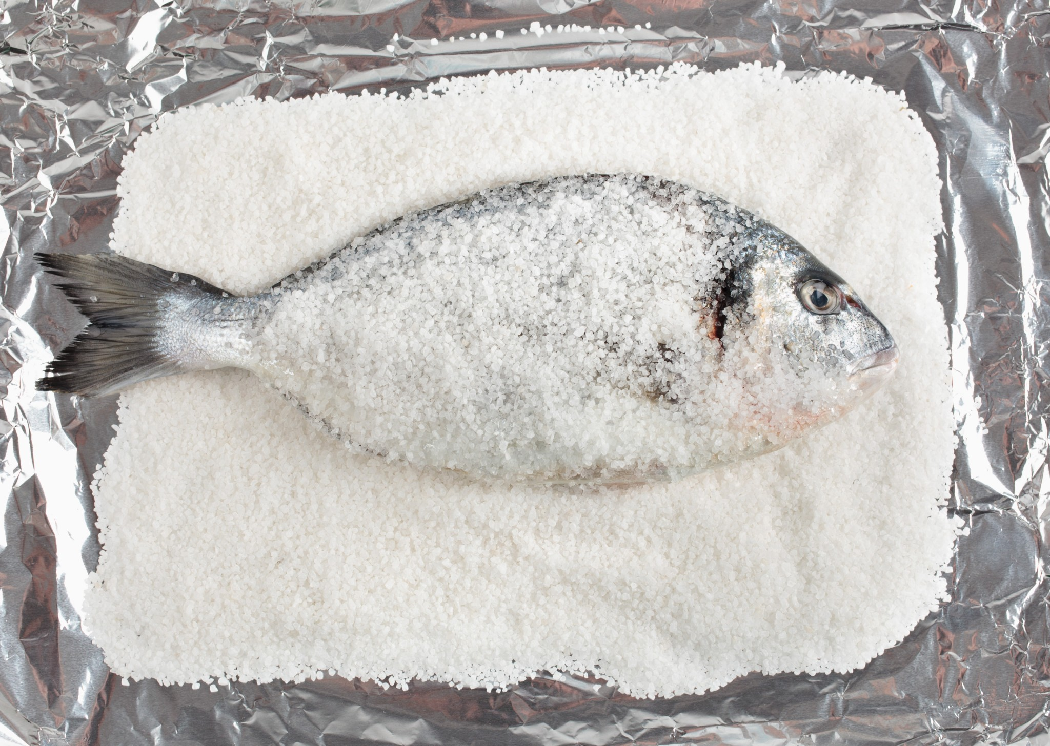 Dorada a la sal