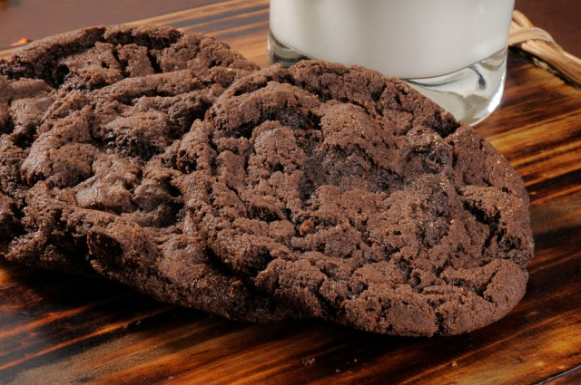 Receta de galletas de chocolate al microondas