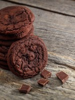Receta de galletas de chocolate sin gluten