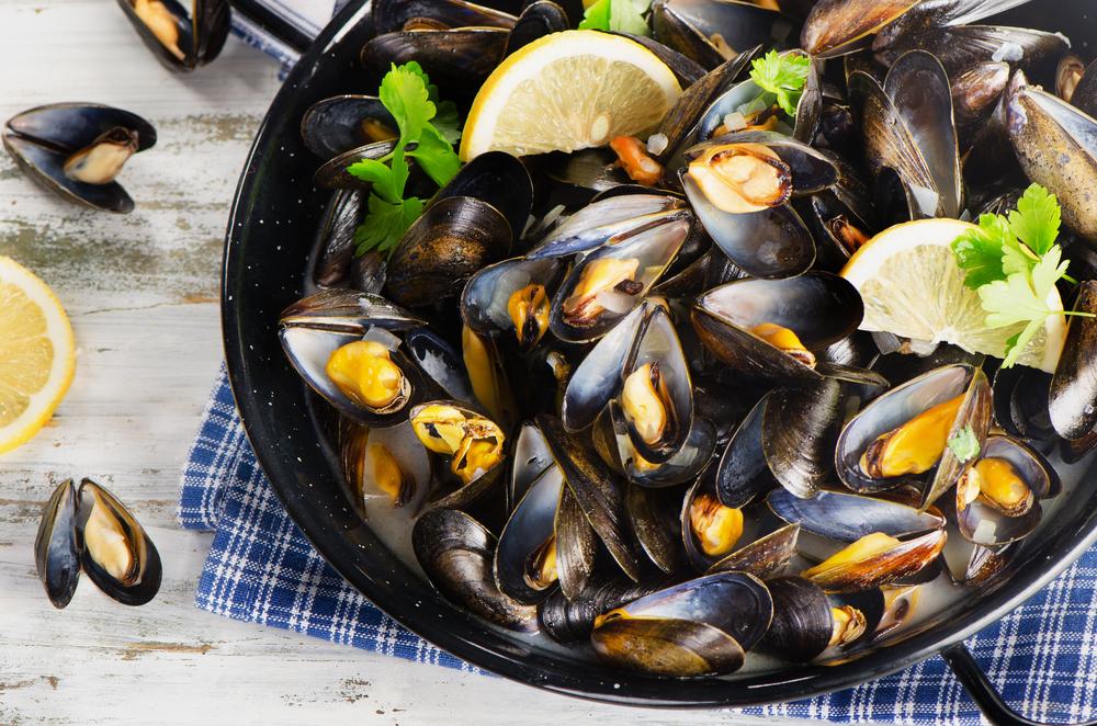 Como Cocinar Mejillones Al Vapor | Mejillones Al Vapor 4 Recetas Faciles Unareceta Com