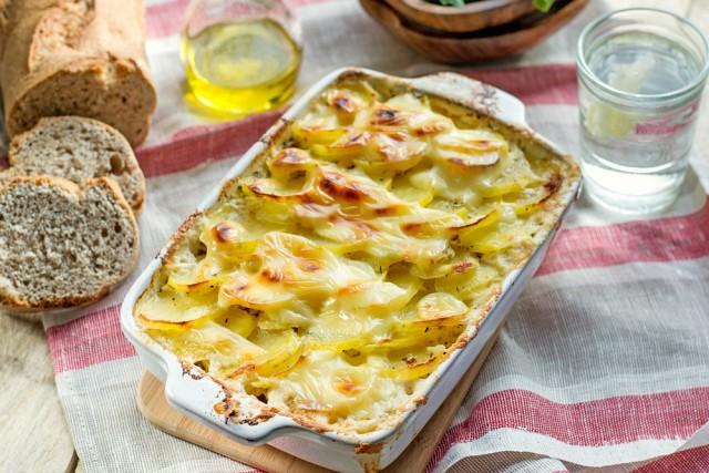 Receta de patatas al horno con bacon