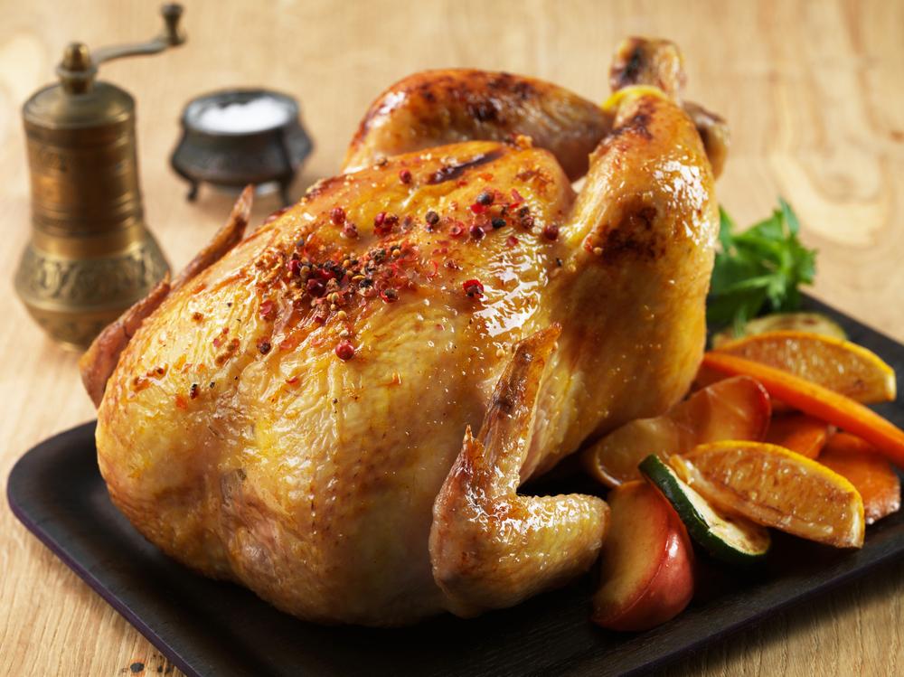 Pollo al horno 70 recetas f ciles for Cocinar un pollo entero
