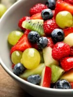 Receta de macedonia de frutas