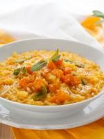 Receta de risotto de calabaza
