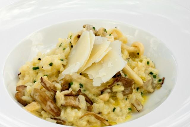 Receta de risotto de setas sin nata
