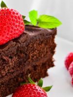 Receta de bizcocho de chocolate sin mantequilla