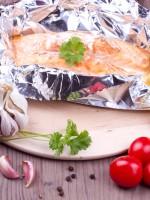 Receta de salmón al horno papillote
