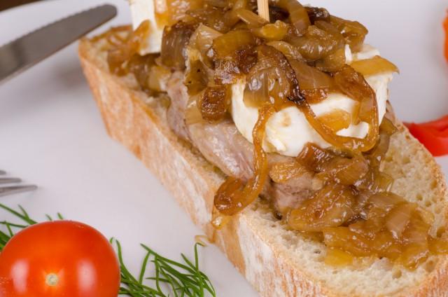 Receta de solomillo con queso de cabra