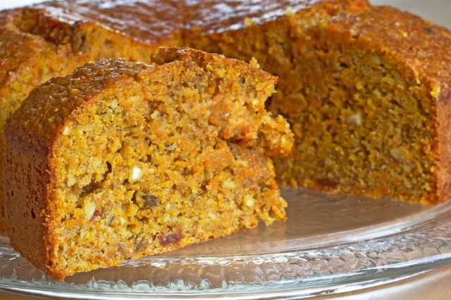 Receta de pastel de zanahoria sin azúcar