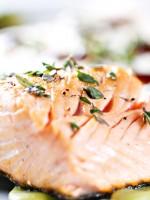 Receta de salmón al horno a las finas hierbas