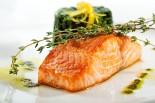 salmón al horno con salsa de mostaza y miel