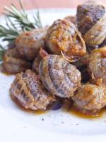 Receta de caracoles con chorizo y jamón