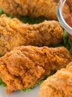 Receta de pollo frito americano