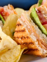 Receta de sándwich club