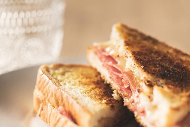 Receta de sándwich mixto