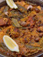 Receta de caracoles con arroz