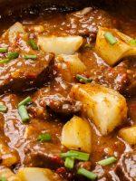 Receta de fricandó con patatas