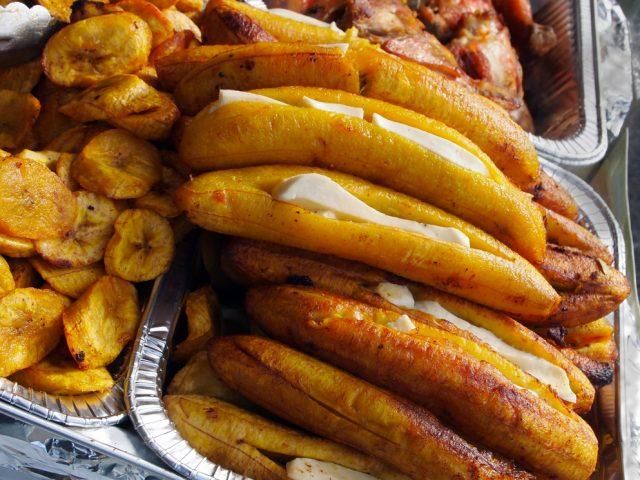 Receta de plátano al horno con queso