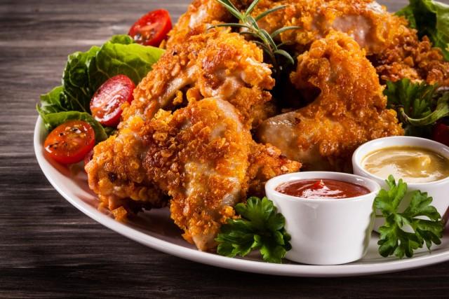 Receta de pollo frito con doritos