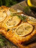 Receta de salmón al horno con limón