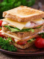Receta de sándwich vegetal