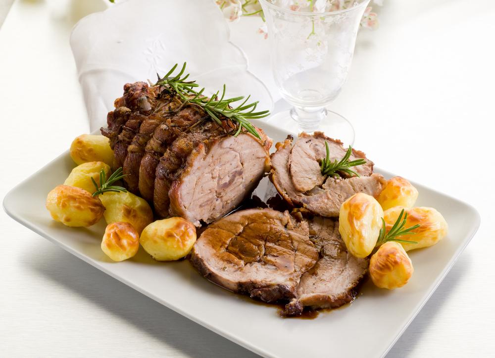 Receta de solomillo al horno con patatas - Solomillo de ternera al horno con mostaza ...