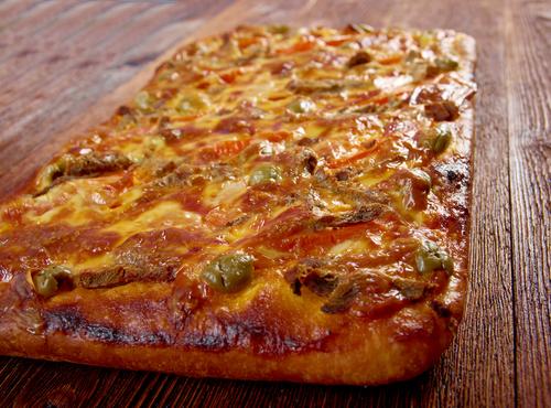Receta de coca de verduras y queso